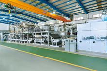 FLL-BG200型湿法成网水刺生産線